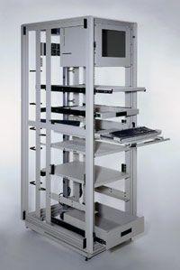ULTIMATE VERSATILITY Heavy Duty 4 Post Rack Cruxial™ heavy