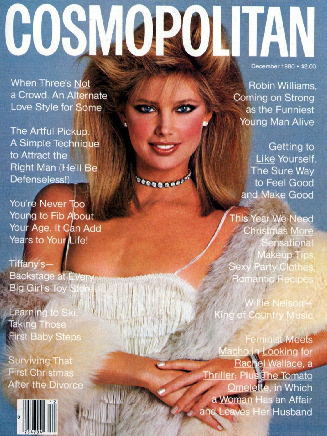 cosmopolitan magazine december 1980 model kelly emberg