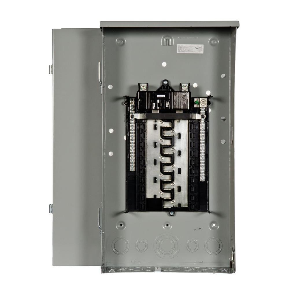 Siemens 20 Space Circuit Main Breaker Copper 20 Indoor Load Center 100 Amp