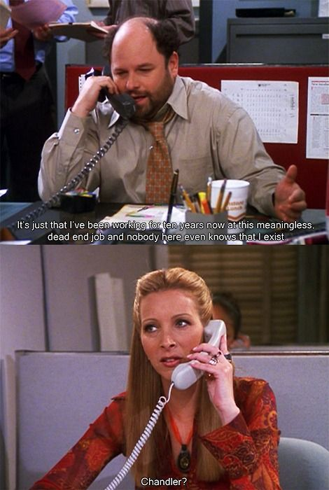 Chandler was the first I heard of someone hating his office
