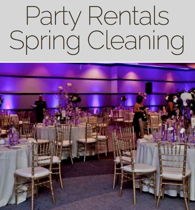 Party Rental Spring CleaningSan Diego California 92102