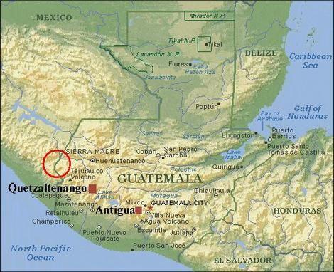 topographic map of guatemala Topography Of Guatemala Google Search Mexico Travel Guatemala