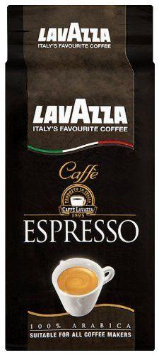 Lavazza Caffe Espresso Coffee - 100% arabica, Suitable for all coffee makers - 8.8 oz (Pack of 4)