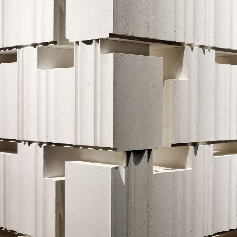Modular natural stone 3D Wall Block BIBLOS - LITHOS DESIGN ... - photo#34
