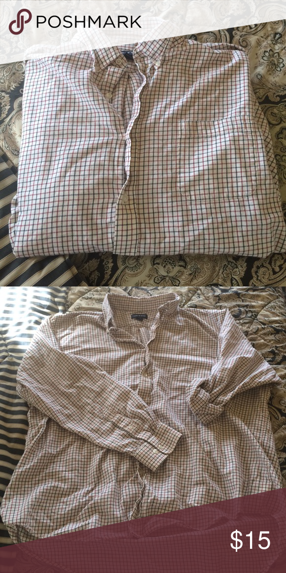 Oversized boyfriend flannel Very similar to the flannels Brandy Melville sells. Vintage creme flannel with oversized fit. I am 5'2 and it covers my butt and can be worn like a dress Brandy Melville Tops Button Down Shirts