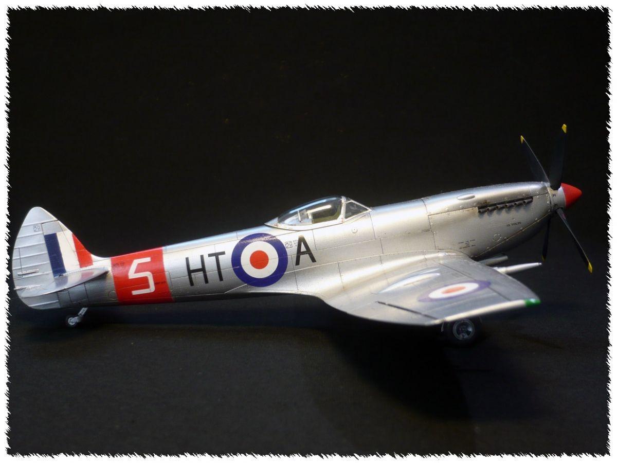 Supermarine Spitfire LF Mk.XVI by TeddyMix (Eduard 1:48)