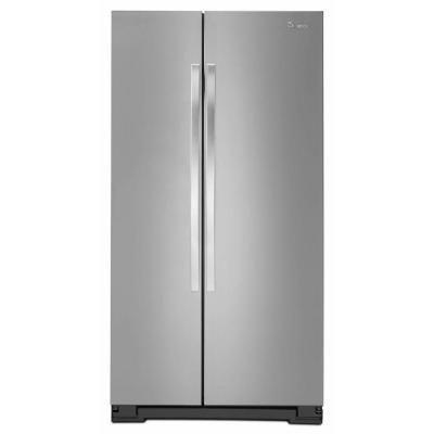 Whirlpool 33 In W 21 7 Cu Ft Side By Side Refrigerator