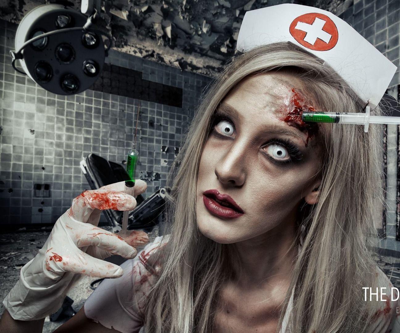 Dead nurse sfx makeup tutorial sfx makeup make up and fx makeup dead nurse sfx makeup tutorial baditri Gallery