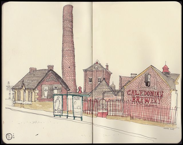 Cally Brewery by stupot., via Flickr