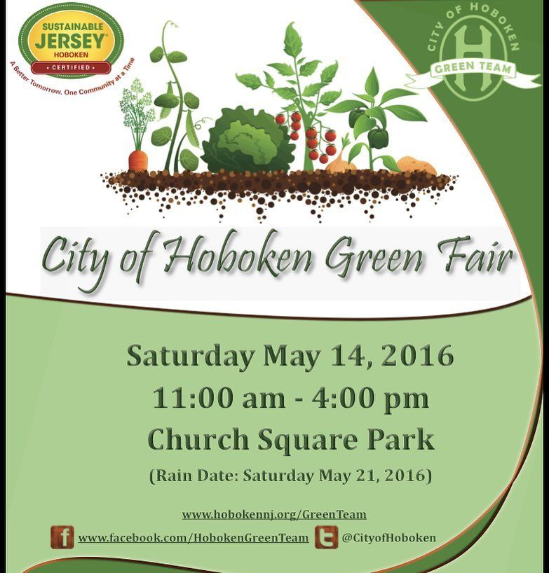We will be in Hoboken tomorrow at Church Square Park for ...