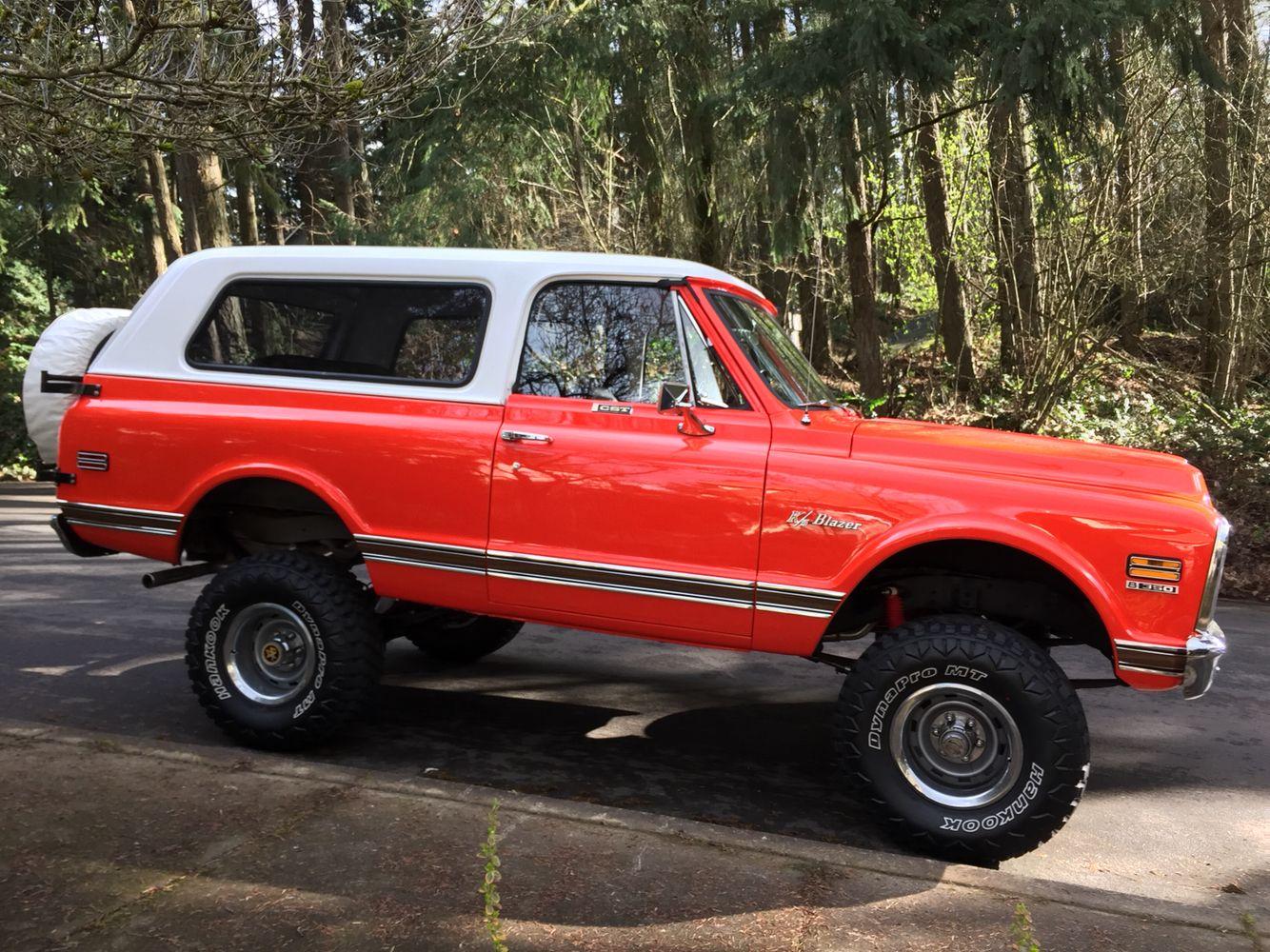 1971 K5 Blazer Cst Hugger Orange Chevrolet Blazer K5 Blazer Chevrolet