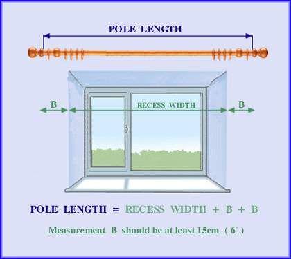 curtain poles measuring curtains curtains