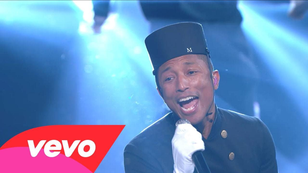Pharrell Williams - Happy (57th GRAMMYs)