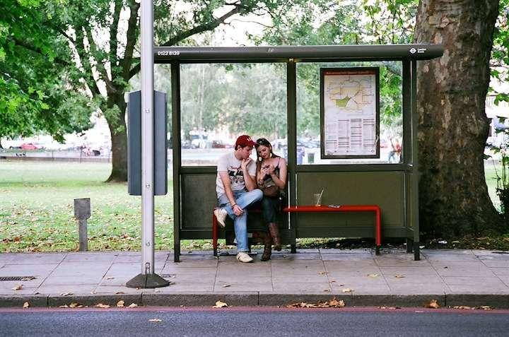Public Waiting Photography Bus Stop Photography London Bus