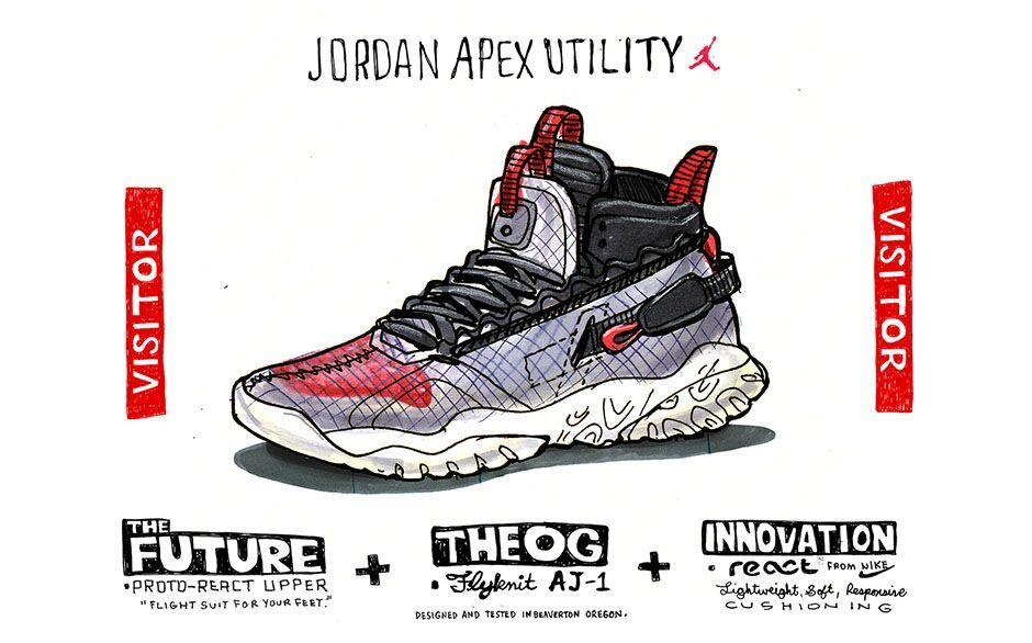 bcbe2cae05b JORDAN APEX UTILITY 'FLIGHT UTILITY'. Nike.com (CA) | M: CONCEPT ART ...