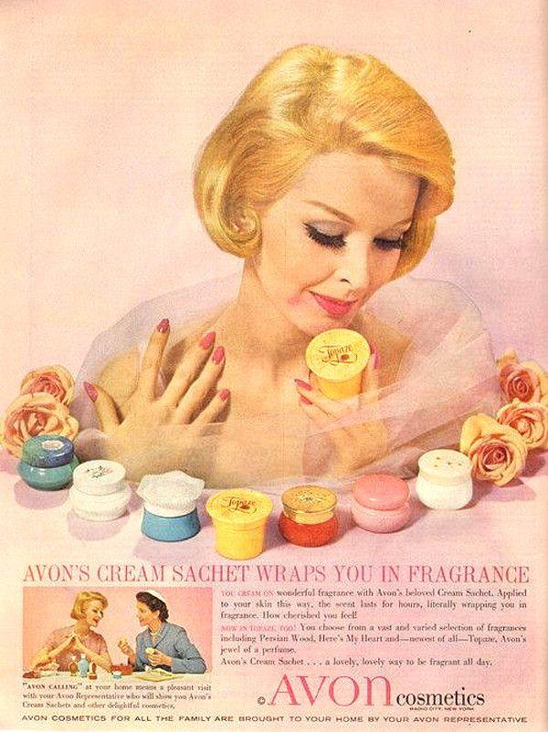 Ding Dong, Avon Calling! – Vintage Mid-Century Avon Lady Ads | Tom + Lorenzo