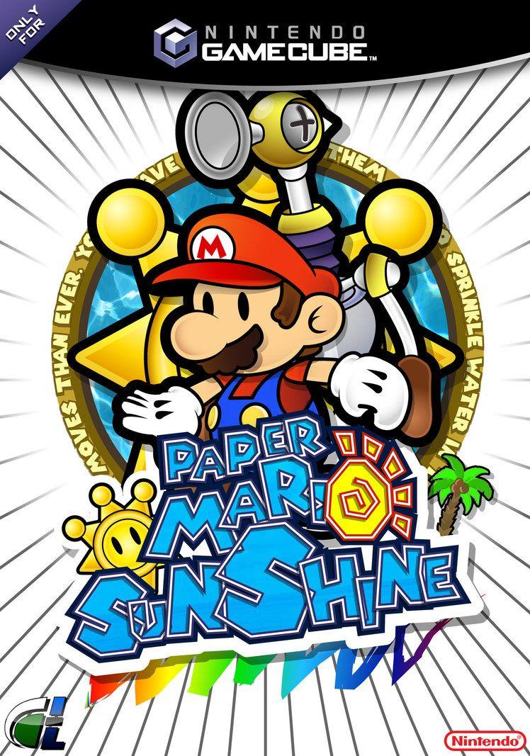 Paper Mario Sunshine By Dpghoastmaniac2 Nintendo Everthing Paper