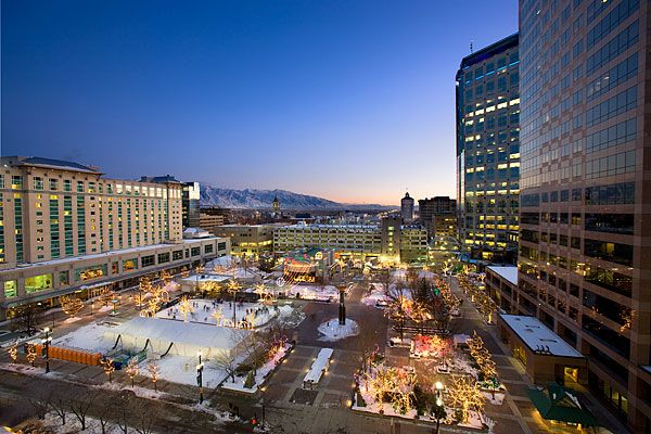 Remember for next time we drive to So Cal. - Gallivan Center, downtown slc
