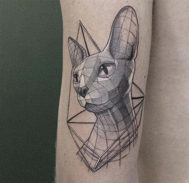 Pin On Geometric Tattoos
