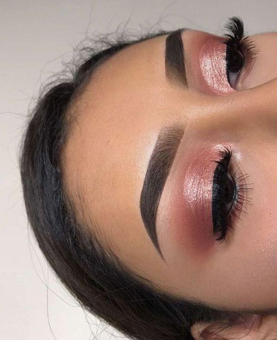 Photo of 41 Top Rose Gold Make-up-Ideen die aussehen wie ei #aussehen #Brown #die #eine #… –  #ausse…