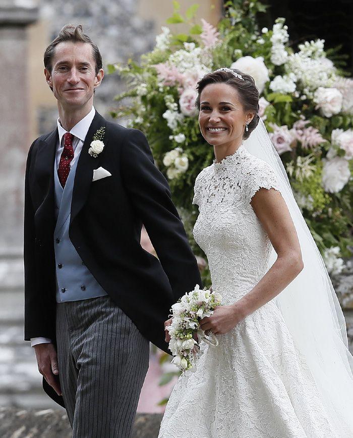 pippa middleton: todos los detalles de la romántica novia | wedding