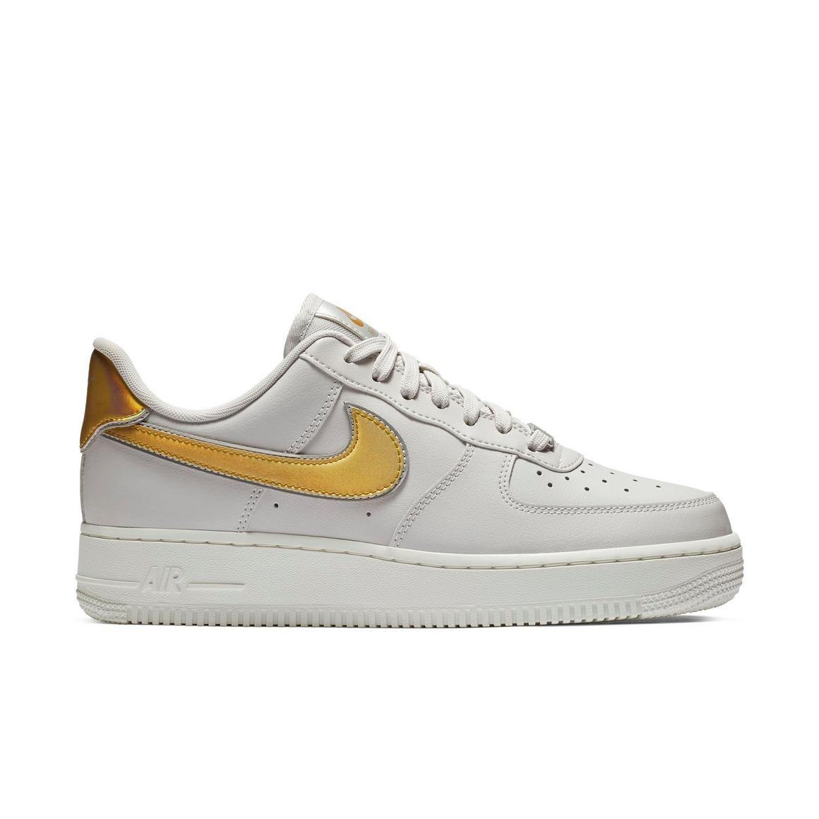 "Nike Air Force 1 '07 ""Vast Grey/Metallic Gold"" Women's"