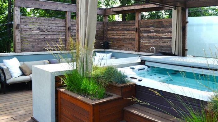moderne terrassengestaltung mit wasser - google-suche | terrasse, Garten ideen gestaltung