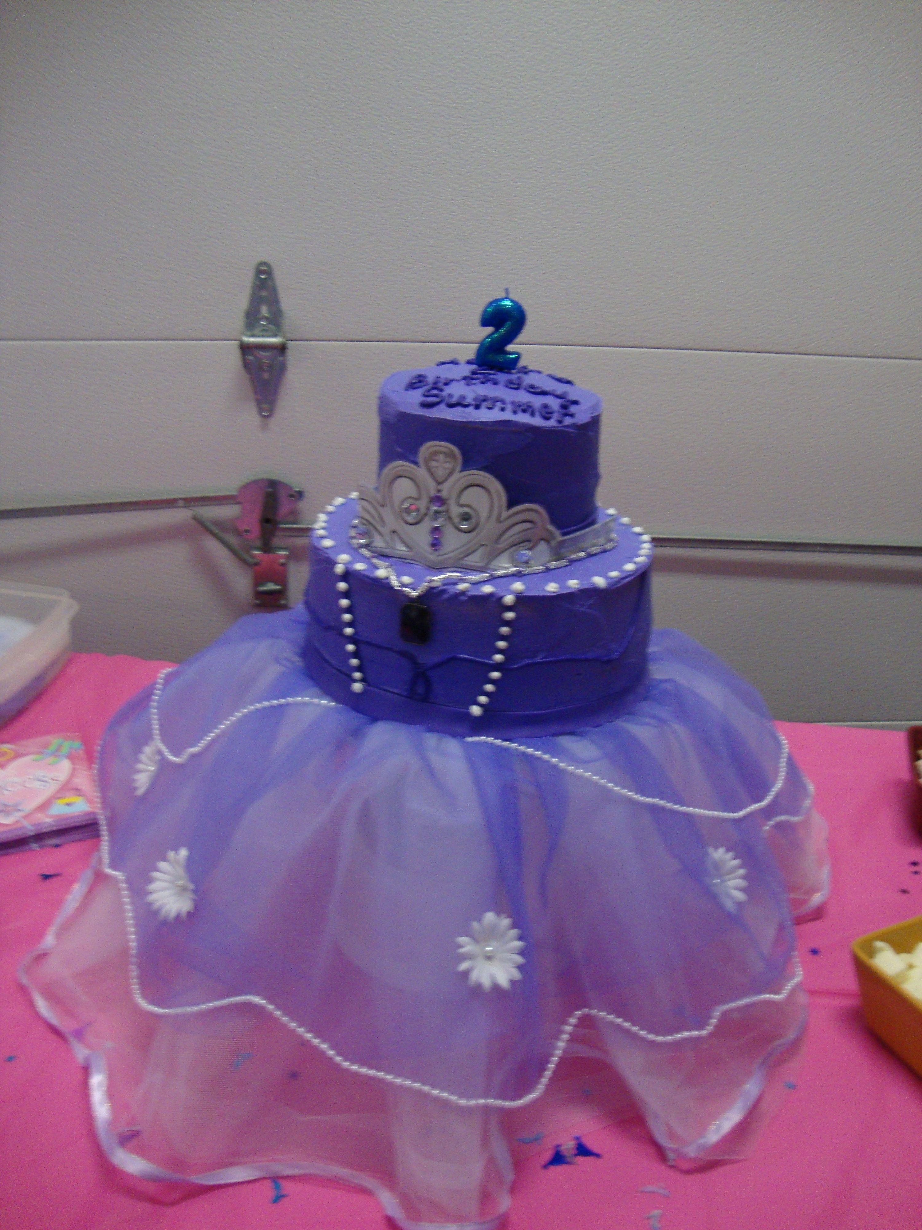 Ikbhal Cute Babies: Sophia The First Cake