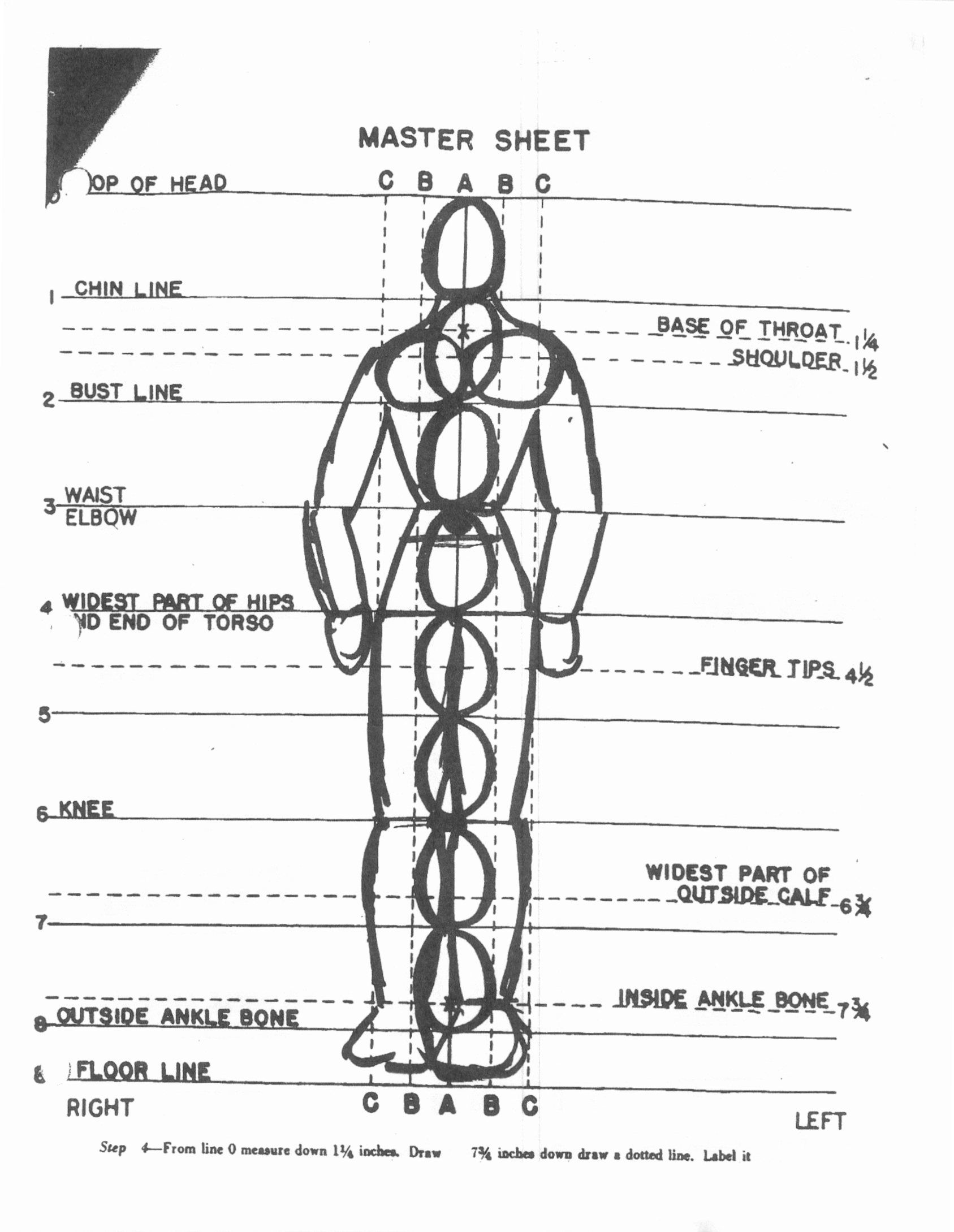 Body Proportions Worksheet Ms Diamond Ceramics
