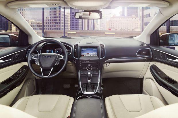 Novo Ford Edge  Por Dentro