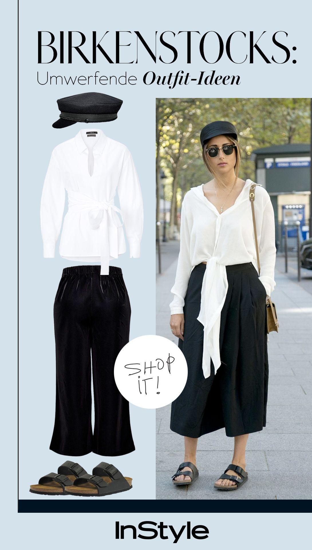 Unbedingt Nachmachen 5 Coole Outfits Mit Birkenstocks