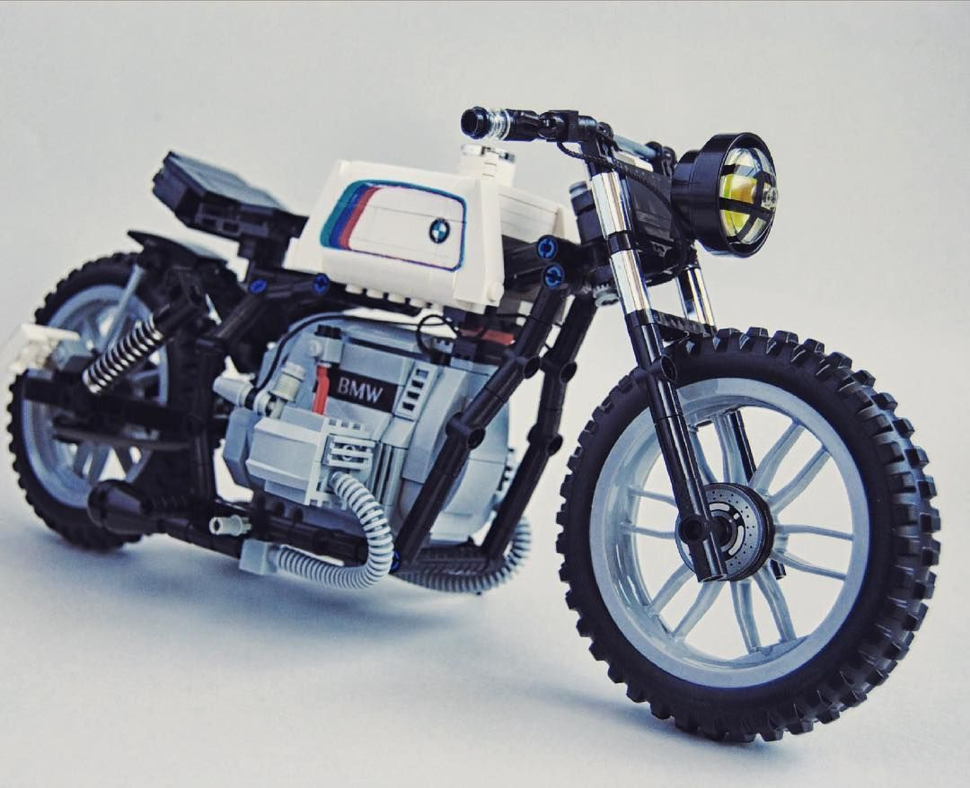 lego bmw cafe racer lego motorcycles lego motorbike. Black Bedroom Furniture Sets. Home Design Ideas