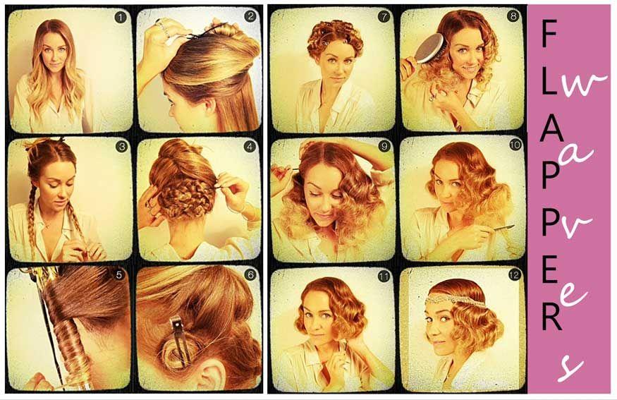 The Roaring Twenties Hairstyles