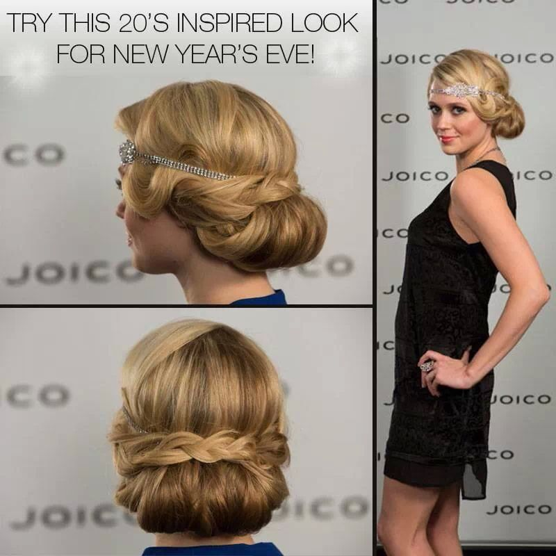 Cute 1920 1930s Hairstyle Great For Weddings Or A Night Out Hair Stayl Pinterest 1930s