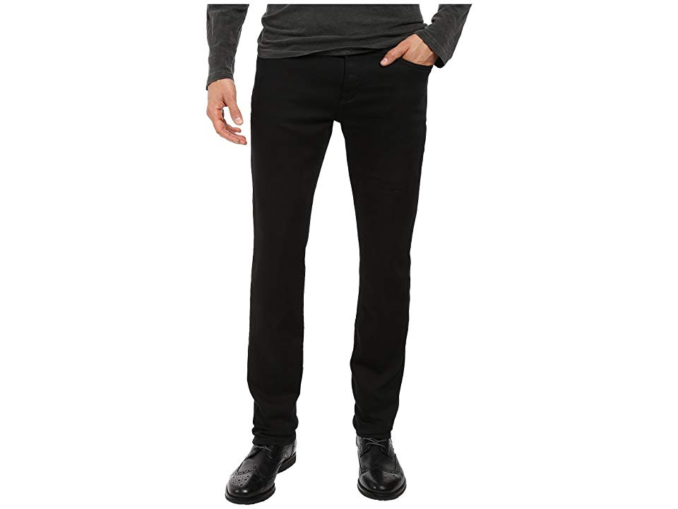 John Varvatos Star USA Bowery Jeans Zip Fly in Black J306S3B Black Mens Jeans Every rockstar has their goto jean Find yours in the with Bowery Pant Straight leg slightly...