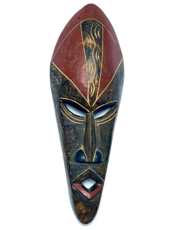 bundu tribal mask traditional tribal mas of one of the
