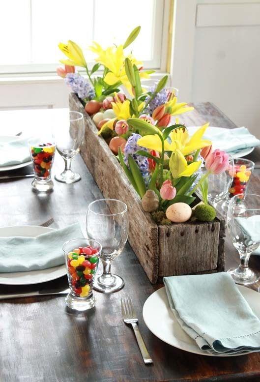 Pequenos detalhes para a sua casa entrar no clima da páscoa, sem perder o estilo.
