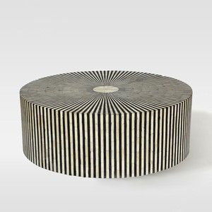 West Elm Stripe Inlay Coffee Table Inspired Furniture
