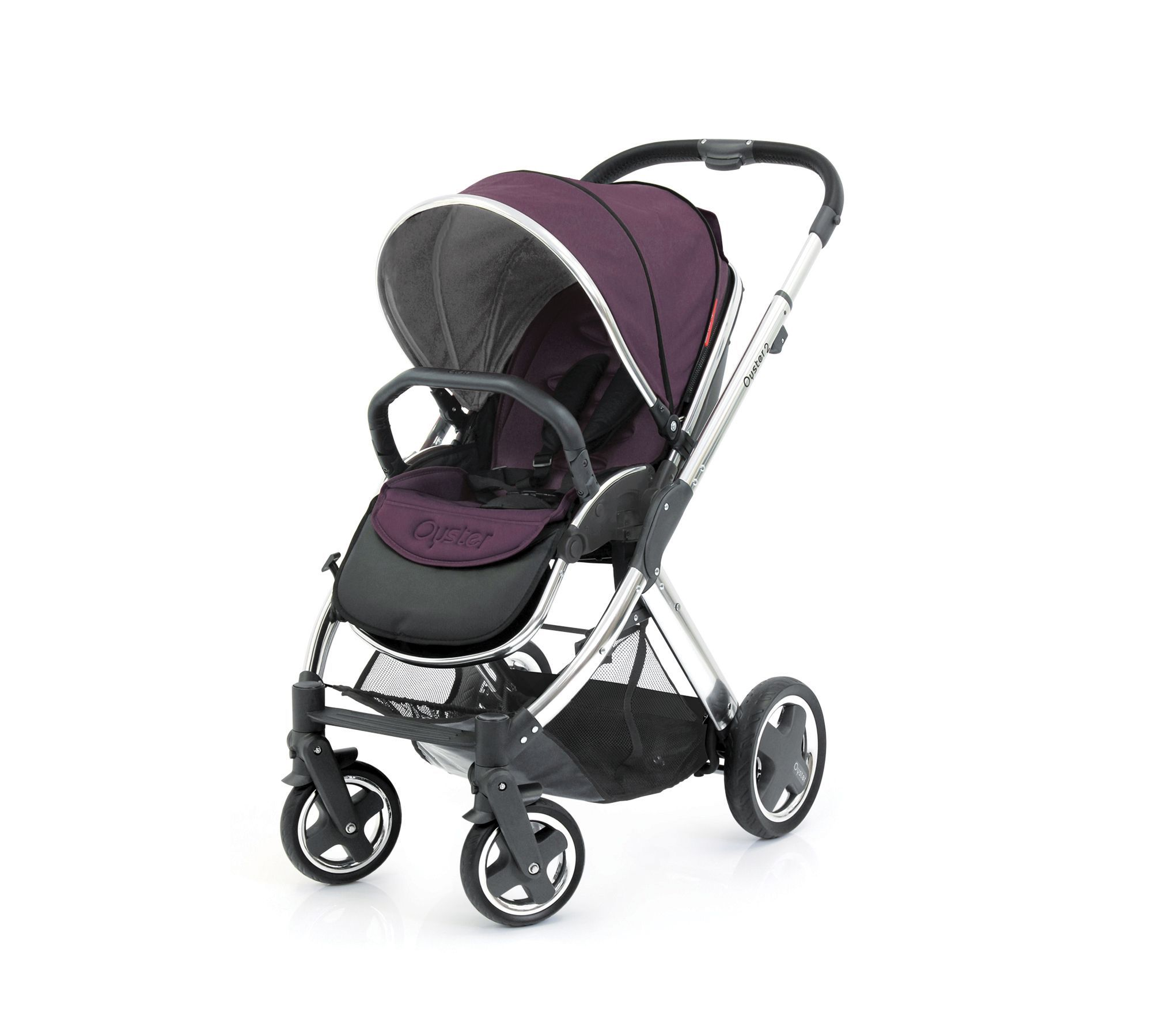 Oyster Pram Purple Oyster 2 Max Vogue Stroller Colour Pack Damson Babies