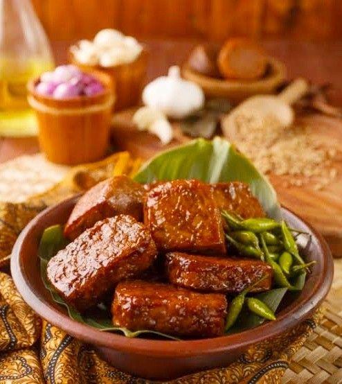 Tempe Bacem Resep Makanan Masakan Resep Masakan