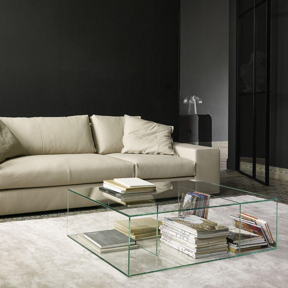 Table Basses Saldo Designer Nick Rennie Collection Cinna Table Basse Transparente Table Basse Mobilier De Salon