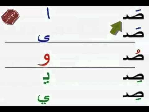 شرح مد الالف ومد الياء ومد بالواو مع تدريبات سهلة وممتعة للطفل بالصور درس المدود Math Alphabet Arabic