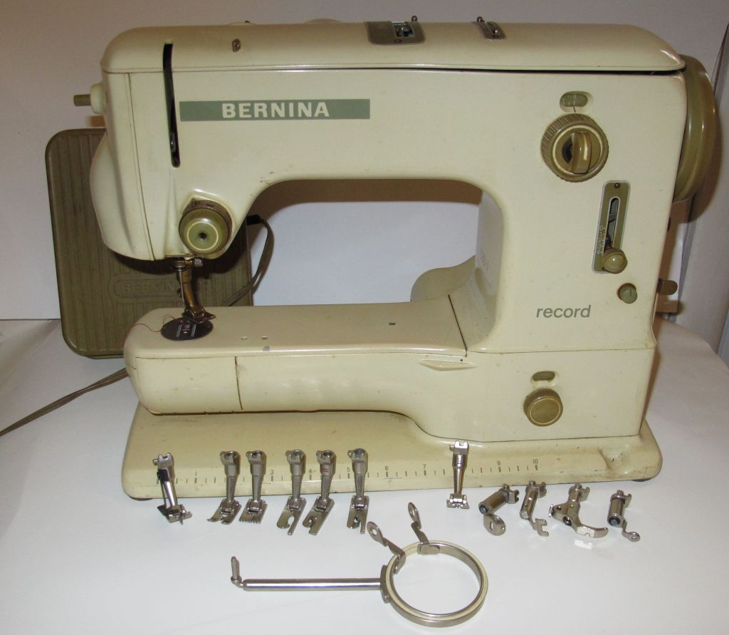 Bernina 530 1 record circa 1960 my mother just gave me for Machine a coudre 217