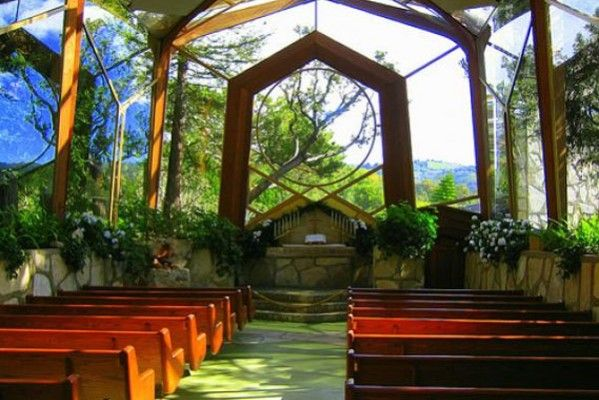 Chapels For Weird And Wacky Weddings Wedding Clan Wayfarers Chapel Chapel Glass Chapel