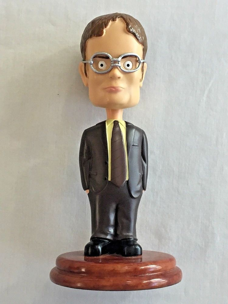 b2d0945b852 The Office Dwight Schrute Bobblehead 7 Inch No Box No Damage Dunder Mifflin  TV