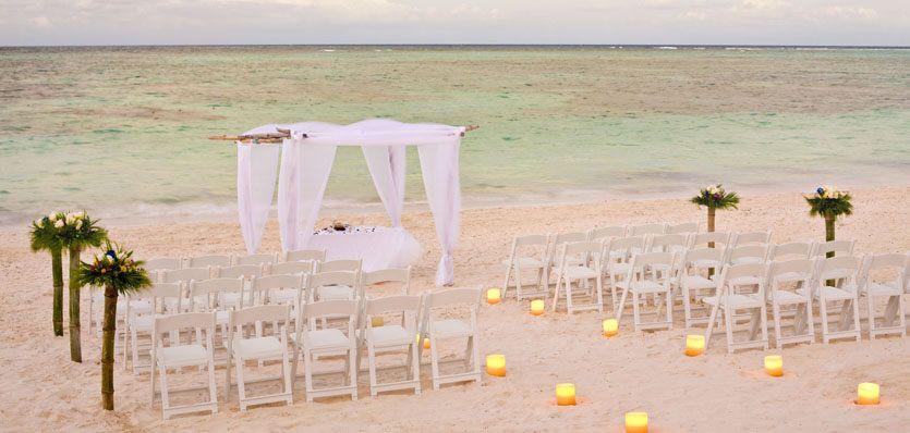 Beach Wedding Melia Caribe Tropical Resort Punta Cana