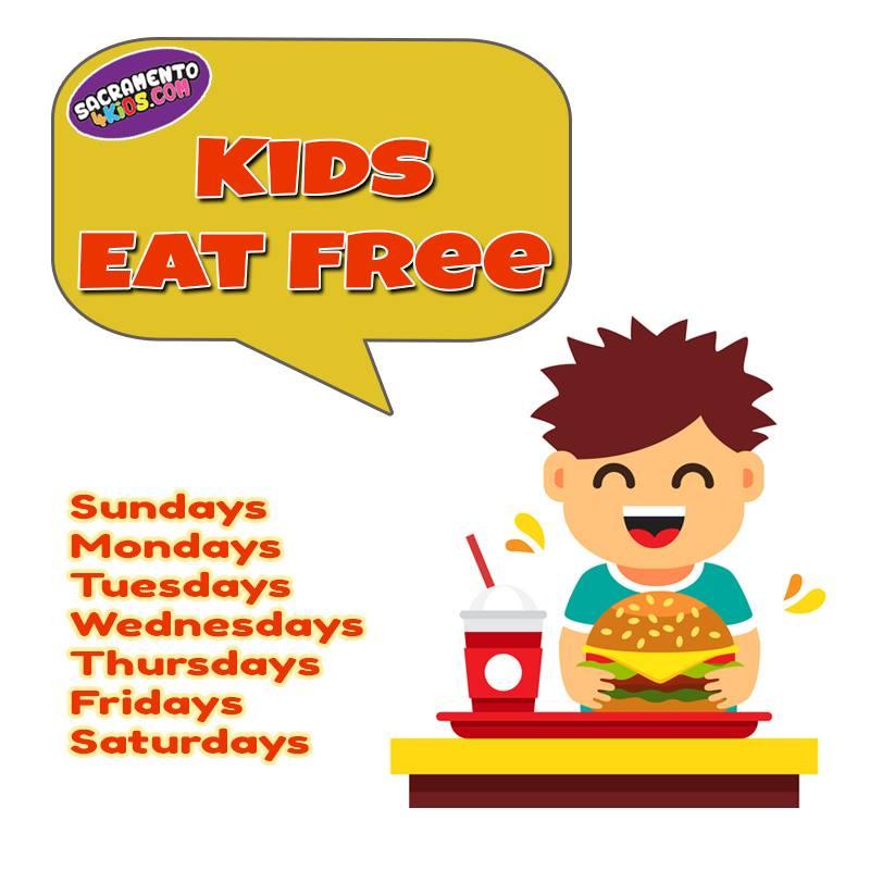 Find Kids Eat Free Restaurants Near You Through Sacramento4kids See