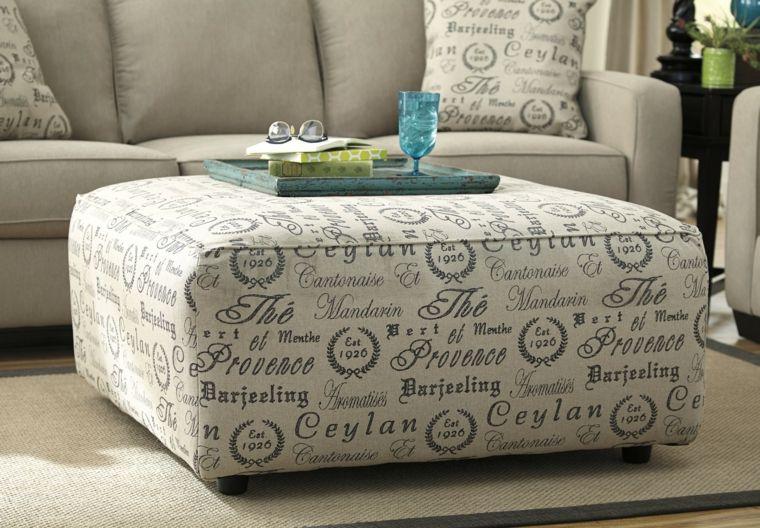 Muebles bonitos - otomanas de gran tamaño para diferentes estilos ...