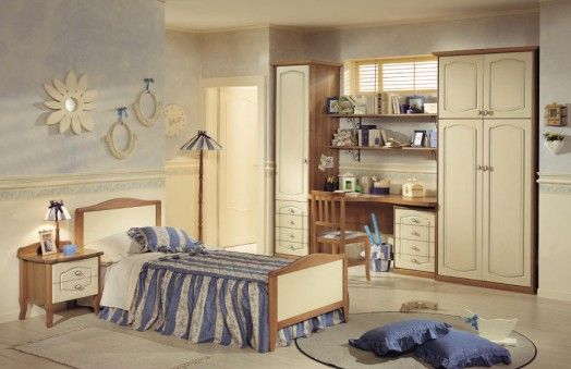 Effedue Camerette ~ Comfy kids bedrooms designs in classic style from effedue