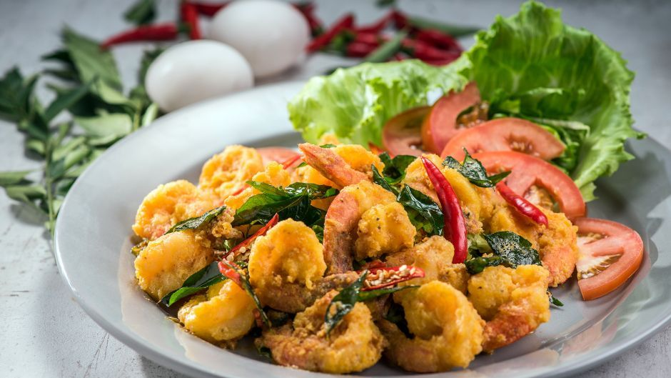 Golden crisp prawns with curry leaves asian food channel food golden crisp prawns with curry leaves asian food channel forumfinder Gallery
